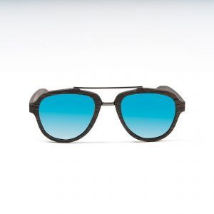 AVIATOR WOOD BLUE